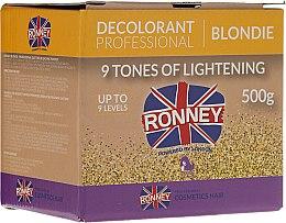 Profumi e cosmetici Polvere decolorante per capelli - Ronney Decolorant Professional Blondie