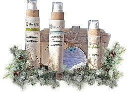 Profumi e cosmetici Set detergente per pelli miste e grasse - Shy Deer (emulsion/200ml + f/tonic/200ml + peel/100ml + cotton pad + keychain)