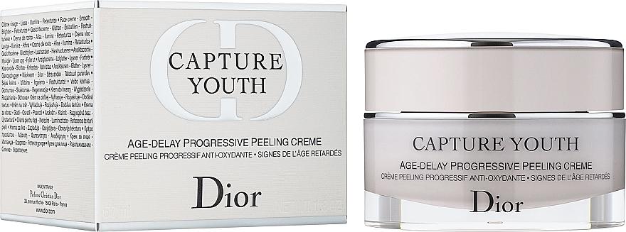 Crema-peeling anti-età - Dior Capture Youth Age-Delay Progressive Peeling Creme — foto N1