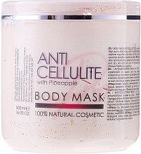 Profumi e cosmetici Maschera corpo anticellulite all'ananas - Sezmar Collection Professional Body Mask Anti Cellulite With Pineapple