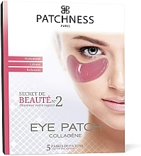 Profumi e cosmetici Patch occhi - Patchness Eye Patch Pink
