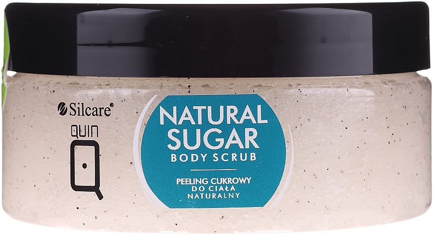Peeling corpo allo zucchero - Silcare Quin Natural Sugar Body Scrub