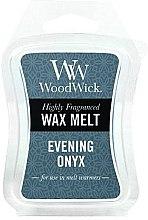 Profumi e cosmetici Cera profumata - WoodWick Wax Melt Evening Onyx