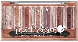 Profumi e cosmetici Palette di ombretti - Lovely Peach Desire