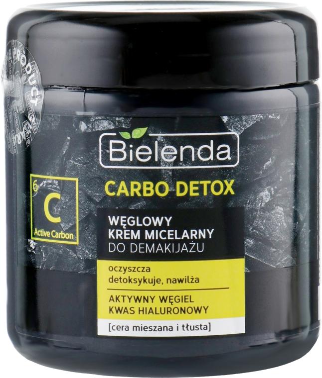 Crema micellare struccante al carbone - Bielenda Carbo Detox Charcoal Makeup Removing Micellar Cream