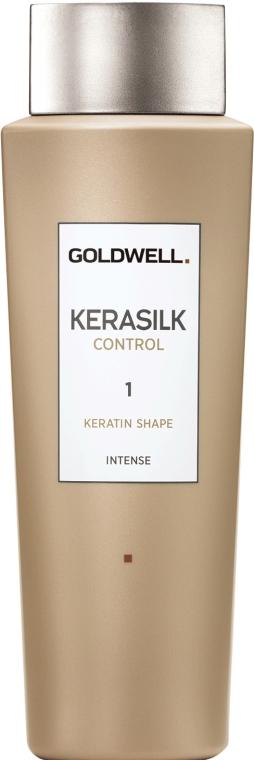 Cheratina per capelli - Goldwell Kerasilk Control Keratin Shape 1 — foto N1