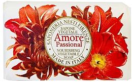 Profumi e cosmetici Sapone con aromi esotici di vaniglia, mandorla, arancia e frutti tropicali - Nesti Dante Amore Passional Nourishing Vegetable Soap