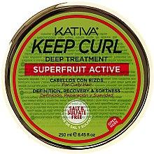 Profumi e cosmetici Maschera capelli ricci - Kativa Keep Curl Deep Treatment