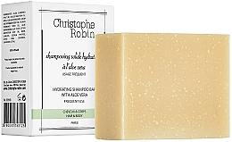 Profumi e cosmetici Shampoo solido all'aloe vera - Christophe Robin Hydrating Shampoo Bar with Aloe Vera
