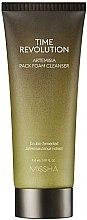 Profumi e cosmetici Maschera-mousse detergente anti-età - Missha Time Revolution Artemisia Pack Foam Cleanser