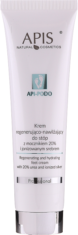 Crema piedi rigenerante e idratante - Apis Professional Api-Podo 20%