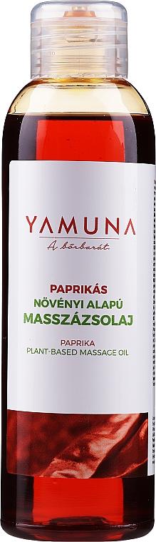 "Olio da massaggio ""Paprika"" - Yamuna Paprika Plant Based Massage Oil"