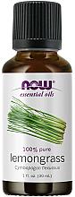 Profumi e cosmetici Olio essenziale di citronella - Now Foods Essential Oils 100% Pure Lemongrass
