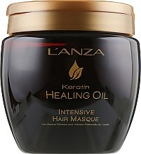 Profumi e cosmetici Maschera per capelli intensiva - L'anza Keratin Healing Oil Intesive Hair Masque