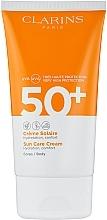 Profumi e cosmetici Crema solare - Clarins Solaire Corps Hydratante Cream SPF 50+
