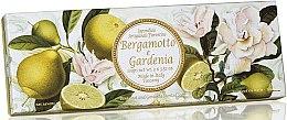"""Profumi e cosmetici Set di sapone naturale """"Bergamotto e Gardenia"""" - Saponificio Artigianale Fiorentino Bergamot & Gardenia (3 x 100g)"""
