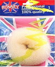 Profumi e cosmetici Ciambella per chignon, beige - Ronney Professional Bun Maker