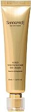 Profumi e cosmetici Crema contorno occhi nutriente con effetto idratante - Shangpree Gold Solution Care Eye Cream