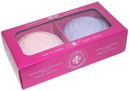 """Profumi e cosmetici Set sapone """"Rosa e lavanda"""" - Gori 1919 Floreal Rose & Lavender (soap/2 x 150 g)"""