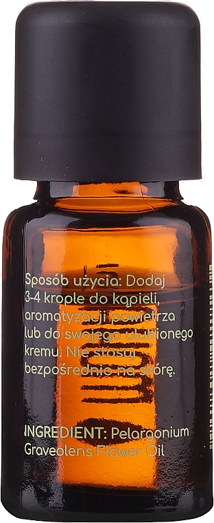 Olio essenziale di geranio - Mohani Geranium Organic Oil — foto N2