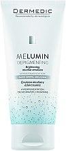 Profumi e cosmetici Emulsione micellare schiarente - Dermedic MeLumin Depigmenting Micellar Emulsion