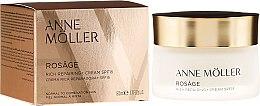 Profumi e cosmetici Crema viso - Anne Moller Rosage Rich Repairing Cream Spf15