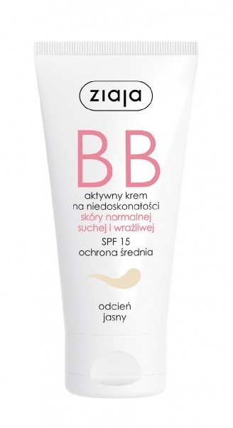BB crema viso SPF 15 - Ziaja BB-Cream Jasny
