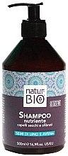 Profumi e cosmetici Shampoo nutriente per capelli secchi e sfibrati - Natur Green Bio Nutriente Shampoo Renee Blanche