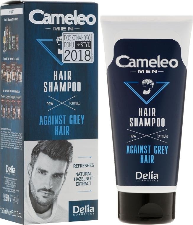 Shampoo per capelli grigi, uomo - Delia Cameleo Men Against Grey Hair Shampoo