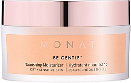 Profumi e cosmetici Crema viso idratante e nutriente - Monat Be Gentle Nourishing Moisturizer