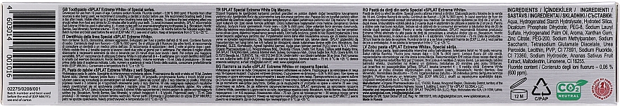 """Dentifricio """"Extreme Whiteness"""" - Splat Special Extreme White Toothpaste — foto N3"""