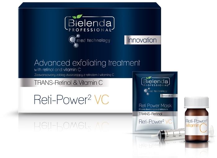 Set - Bielenda Professional Advanced Exfoliating Treatment (mask/5*5ml+serum/5*1g) — foto N1