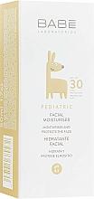 Profumi e cosmetici Crema viso idratante per bambini SPF 30 - Babe Laboratorios Facial Moisturizer SPF 30