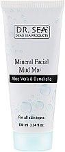 Profumi e cosmetici Maschera di fango minerale con aloe vera e dunaliella - Dr. Sea Mineral Mud Mask