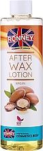 """Profumi e cosmetici Lozione post-depilazione """"Argan"""" - Ronney Professional After Wax Lotion Argan"""
