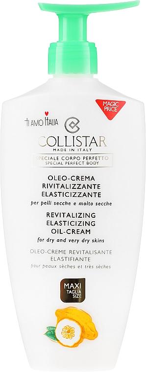 Olio-crema corpo pelle secca - Collistar Revitalizing Elasticizing Oil-Cream