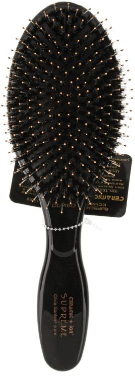Spazzola per massaggi, per capelli - Olivia Garden Ceramic+Ion Supreme Combo