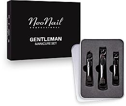 Profumi e cosmetici Set manicure per uomo - NeoNail Professional Gentleman Manicure Set