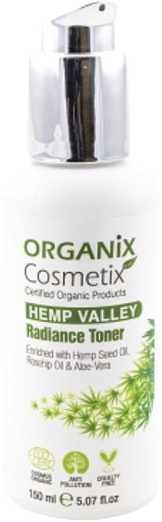 Tonico illuminante - Organix Cosmetix Hemp Valley Radiance Toner — foto N1