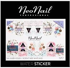 Profumi e cosmetici Adesivi per unghie - NeoNail Professional Water Sticker