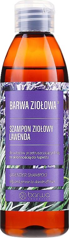 Shampoo per capelli grassi e soggetti a forfora - Barwa Herbal Lavender Shampoo