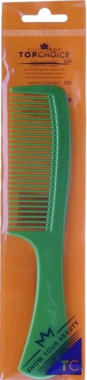 Pettine per capelli 1529, verde - Top Choice