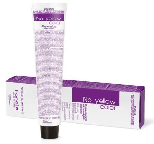 Crema-tinta tonificante per capelli - Fanola No Yellow Color Toner (Rose)