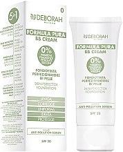 Profumi e cosmetici BB crema - Deborah Milano Formula Pura BB Cream 5in1