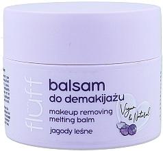 Profumi e cosmetici Struccante - Fluff Makeup Remover Balm Wild Blueberries