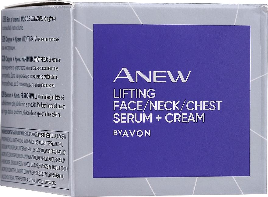 Siero lifting e rassodante per viso, collo e décolleté - Avon Anew Clinical Lift & Firm Pressed Serum