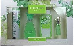 Profumi e cosmetici Coty Chanson d'Eau - Set (edt/100ml + sh/gel/200ml + deo/200ml + edt/15ml)