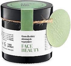 Profumi e cosmetici Crema leggera da giorno, per pelle problematica - Make Me BIO Beautiful Face