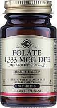 "Profumi e cosmetici Integratore alimentare ""Acido folico"" (Metafolin 800 mcg) - Solgar"