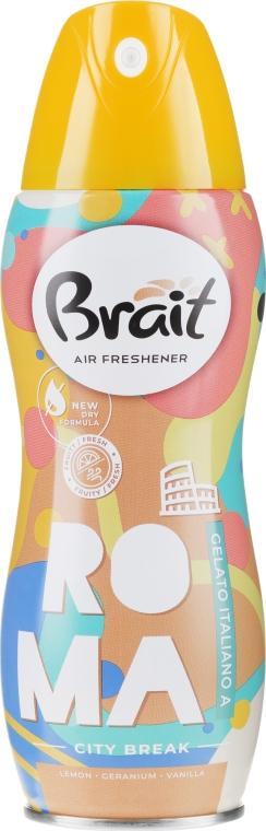 """Deodorante per ambienti """"City Break -Roma"""" - Brait Dry Air"""